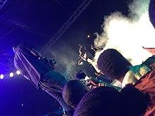 220px Afrobeats star Burna Boy performing with at Nativeland Concert%2C Lagos%2C Nigeria 2016