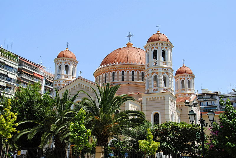 The Metropolitan Church of Saint Gregory Palamas is just as beautiful on the inside and is a must see on your cultural walk around the city
