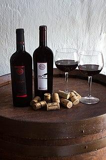 Aglianico del Vulture DOC wine from Potenza, Basilicata, Italy