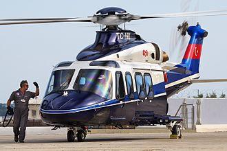 AgustaWestland AW139 - A corporate transport AW139