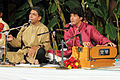 Ahmed and Mohammed Hussain performing.JPG