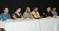 Ahsan Muzid, Director and cast of film Sonam addressing the press conference during the ongoing 37th International Film Festival (IFFI-2006) in Panaji, Goa on November 30, 2006.jpg