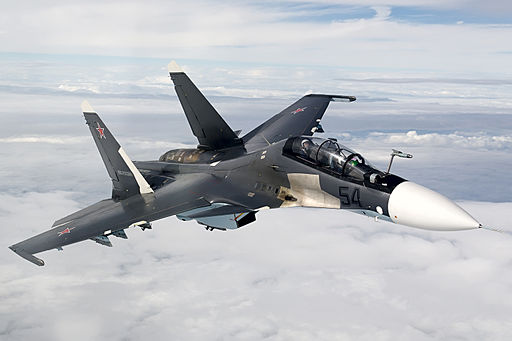 Air-to-air with a Russian Air Force Sukhoi Su-30SM