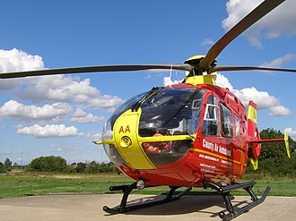 Midlands Air Ambulance - Eurocopter EC 135 G-HWAA based at Strensham