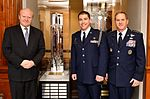 Air Force Chief of Staff Gen. David L. Goldfein visits with Cadet Martin York, from Det. 365, Air Force ROTC.jpg