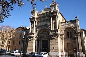 Церковь Мадлен в Экс-ан-Провансе, где проходило бракосочетание Поля Сезанна