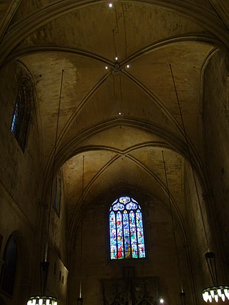 Aix Cathedral - Interior of Aix Cathedral