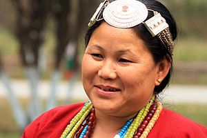 Hruso people - Aka Lady of Arunachal Pradesh