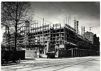 Aksel Møllers Have - Godthåbs Have under construction, c. 1943