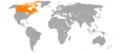 Albania Canada Locator.png