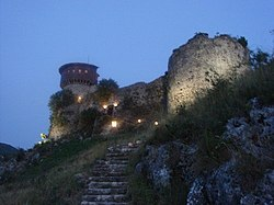 Albania petrela castle.jpg