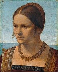 Albrecht Dürer: Portrait of a young Venetian woman