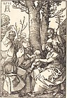 Albrecht Dürer - The Holy Family with Joachim and Anne under a Tree (NGA 1943.3.3677).jpg