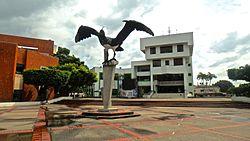 Alcaldía de Arauca y monumento 2.JPG
