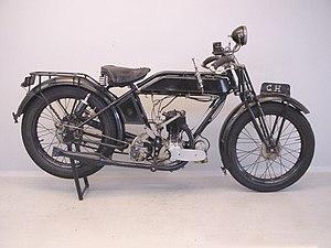 Alcyon - A 1925 Alcyon Touriste 350 JAP motorcycle