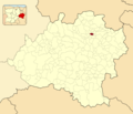 Aldealseñor in Soria Province locator.png