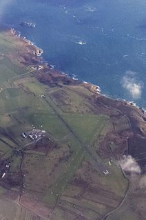 Alderney Airport airport on the island of Alderney