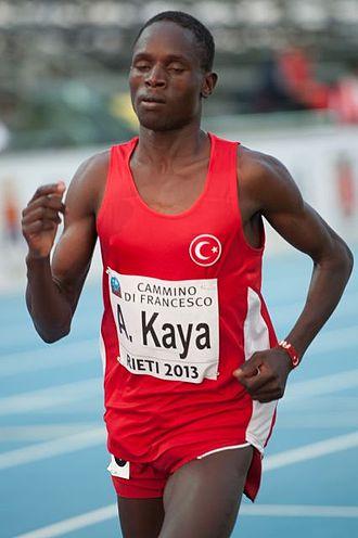 2013 European Athletics Junior Championships - Ali Kaya won the men's 5000 and 10,000 metres.