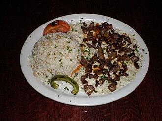 Alinazik kebab - Image: Alinazik