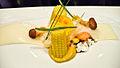 Alinea Lobster, popcorn, butter, baby corn (2771114849).jpg
