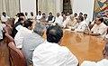All party delegation from the Karnataka led by the Chief Minister of Karnataka, Shri Siddaramaiah calling on the Prime Minister, Shri Narendra Modi, in New Delhi on April 30, 2015 (2).jpg