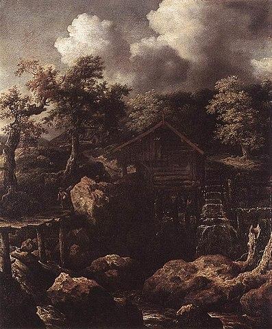 Everdingen, Forest Scene