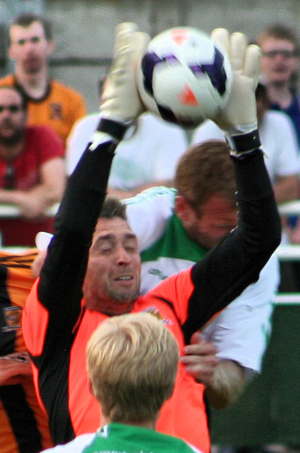Allan McGregor - McGregor playing for Hull City in 2013