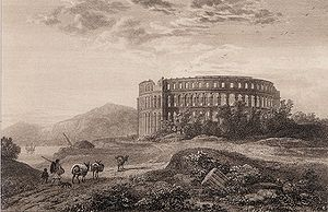 Thomas Allason - Engraving by Thomas Allason; Picturesque Views Of The Antiquities Of Pola, published by John Murray in 1819.