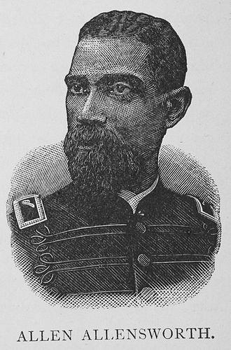 Allen Allensworth - Allensworth in 1887.