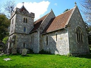 St John the Baptists Church, Allington Church in Wiltshire, England