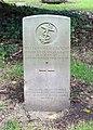 Almond (William Wallace) CWGC gravestone, Flaybrick Memorial Gardens.jpg