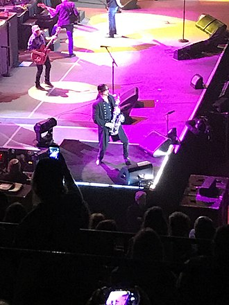 Alto Reed - Alto Reed performing in Billings, Montana, with Bob Seger and the Silver Bullet Band, January, 2019