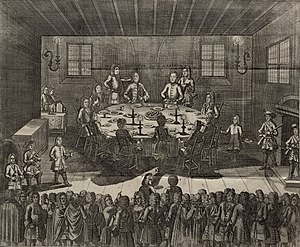Treaty of Altranstädt (1706) - Charles XII of Sweden in Altranstädt 1706-1707, by Johan David Swartz