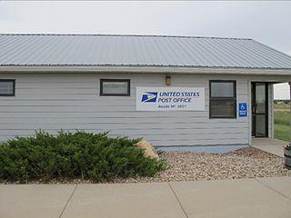 Alzada, Montana Census-designated place in Montana, United States