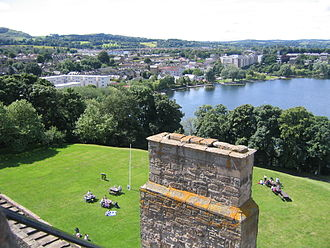 Linlithgow - Image: Am linlithgow palace and town