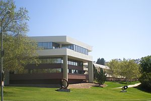 Bel Air, Los Angeles - The American Jewish University, located in the Bel Air Casiano neighborhood.