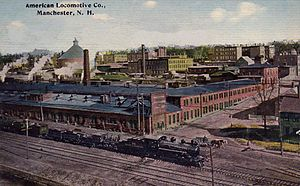 Manchester Locomotive Works - The plant in 1912.