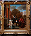 Amsterdam - Rijksmuseum 1885 - The Gallery of Honour (1st Floor) - Double portrait of Adolf Croeser and his daughter Catharina Croeser 1655 by Jan Steen.jpg