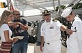An officer explains the navy insignia..jpg