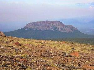 Anahim Peak - West side of Anahim Peak