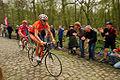 Andoni Lafuente, Paris-Roubaix 2009.jpg