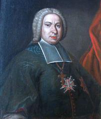 Portrait of Andrzej Stanisław Załuski, Bishop of Kraków