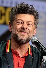 Performance capture actor Andy Serkis