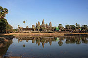 Angkor Wat Northwest Pond View