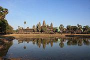 Angkor Wat Northwest Pond View