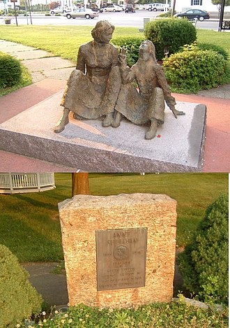 Agawam, Massachusetts - Anne Sullivan Memorial, Feeding Hills, MA