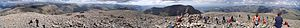 Scafell Pike - Image: Annotated Scafel Pike Panorama