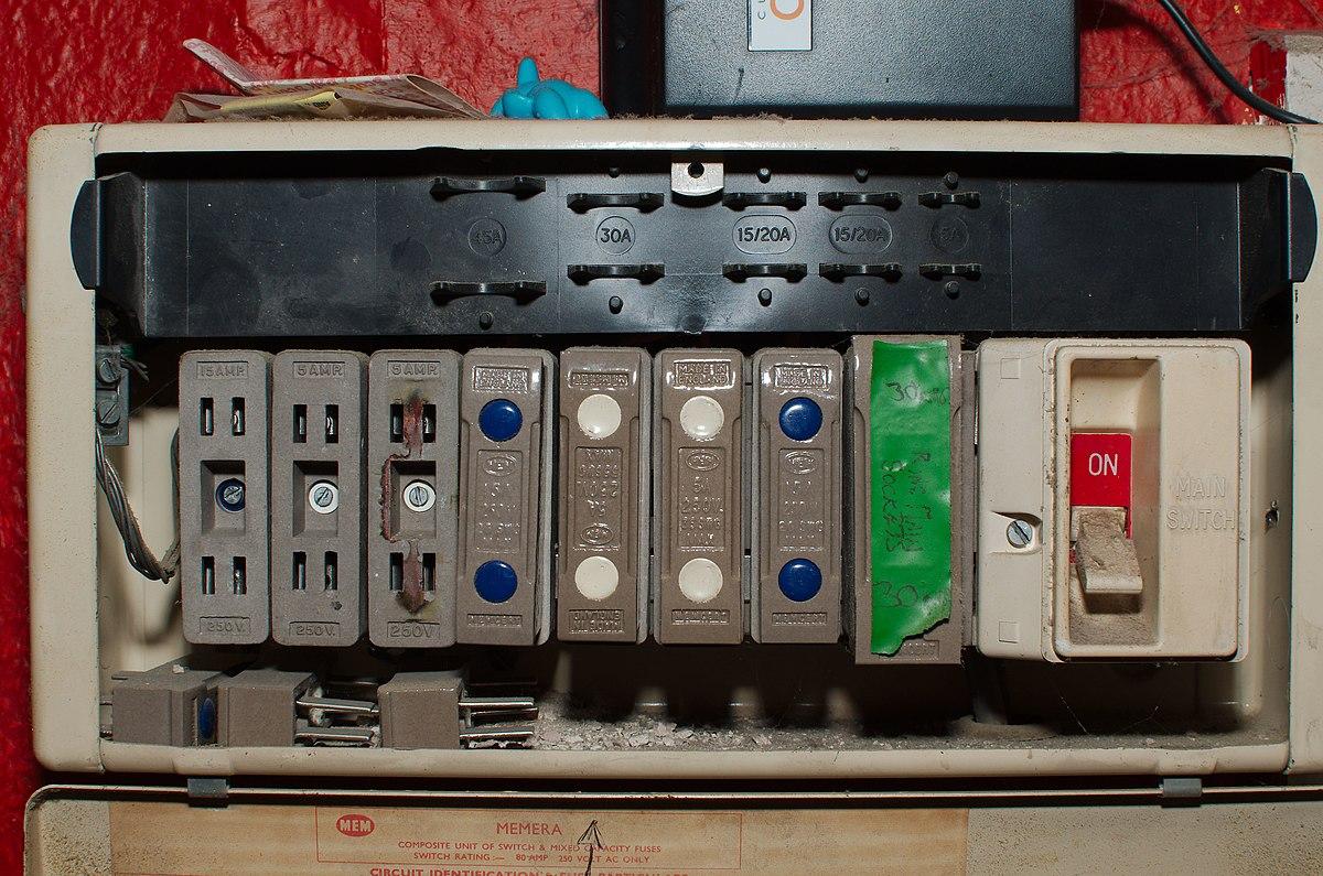 file:antique fuse box (15460149678).jpg - wikimedia commons  - wikimedia commons