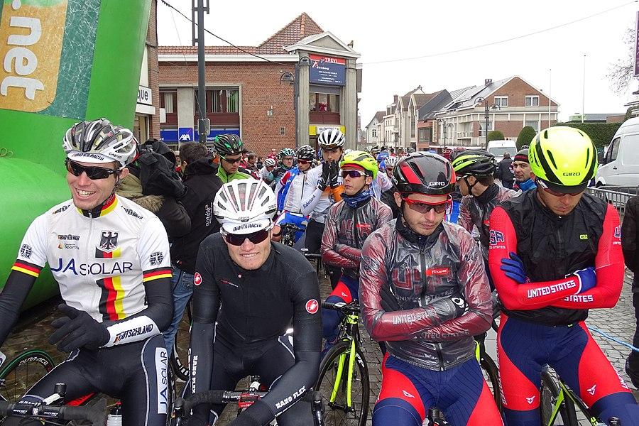 Triptyque des Monts et Châteaux 2015 Depicted people:  Mario Vogt and Marco Mathis Depicted team: Équipe nationale d'Allemagne espoirs, Équipe nationale des États-Unis espoirs