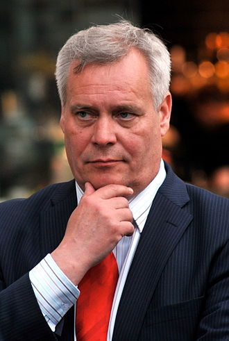 Social Democratic Party of Finland - Party leader Antti Rinne